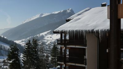 Photo for Apartment 4-5 pers. in Grand Bornand, calm, full south with garden and view