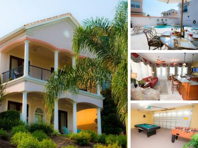 Photo for Luxury 4 Bedroom Vacation Home in Reunion Resort