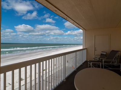 Photo for Beach Front Spacious 3/2 Condo with Stunning Views of the Gulf of Mexico