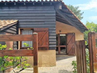 Photo for Pleasant semi-detached house type 3 Mezzanine located in a hamlet in the pines