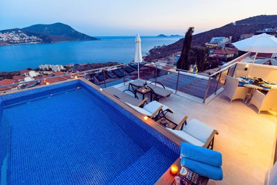 Stylish Penthouse Topaz with private pool is just a stroll from the old town.