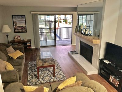 Two Bed, Two Bath 1261 sq. ft. condo with washer/dryer in unit.