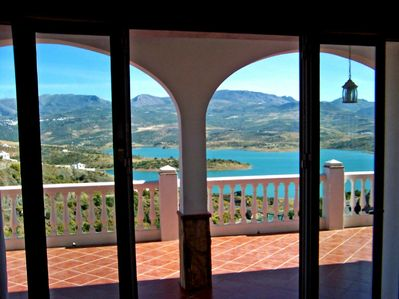 Stunning Views from lounge through patio doors