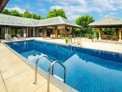 Photo for Secluded luxury villa with a pool, a gym and more welcome to enjoy your holiday!