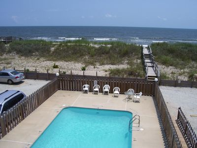 Photo for 3BR OCEANFRONT..HUGE OCEAN DECK..POOL..FAMILY BEACH..ALL FEES INCLUDED* #2-C