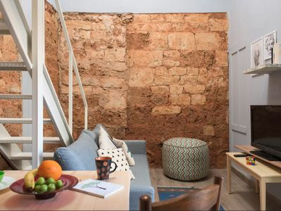 Photo for Charming Lebanese style loft studio in Mar Mikhael