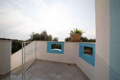 appatamento salento2: balcone vista mare