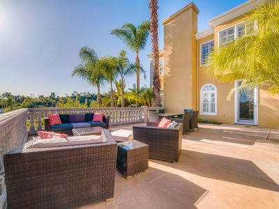 Photo for Gorgeous Estate Overlooking Lagoon in Carlsbad