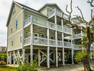Photo for Sound Sister: 6 BR / 4.5 BA in North Topsail Beach, Sleeps 16+, Soundfront