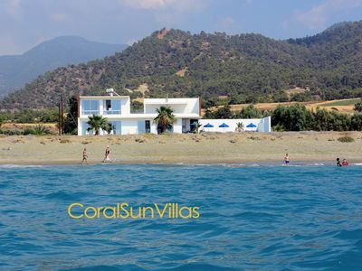 Photo for BEACH FRONT Spectacular Villa, Completely Private, Ultimate Relaxation & Comfort