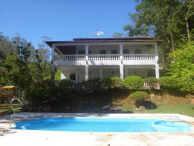 Photo for Beautiful colonial house, leisure, green and private lake and pool