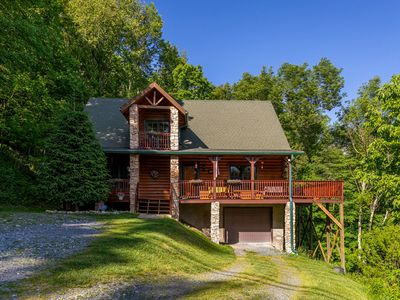Photo for *NEW LISTING!* Atop Banner Elk - Stunning Grandfather Mountain Views, Close to Beech Mountain!