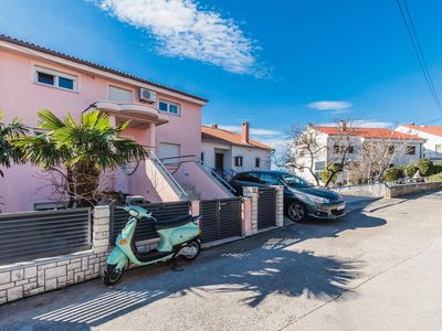 Photo for Three bedroom apartment with terrace and sea view Crikvenica
