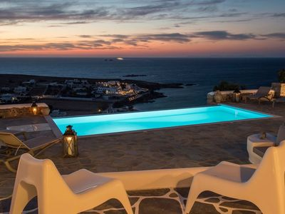 Photo for Platinum Paros Villa | Villa Ocyrhoe II | Sea Views | 2 Bedrooms | Parasporos