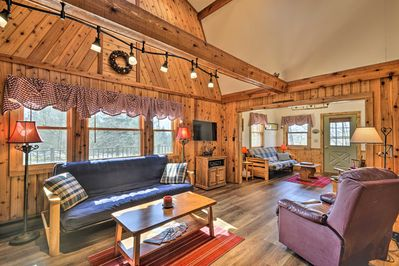 Kick back in your cabin nightly!