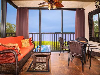 Serenity - As you're sitting out on the balcony of Windward Point 212, you may have to pinch yourself to ensure your surroundings aren't a dream!