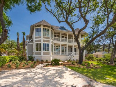 Photo for New East Beach Home: Gorgeous Marsh Views, Heated Pool, 5 Minutes to Beach