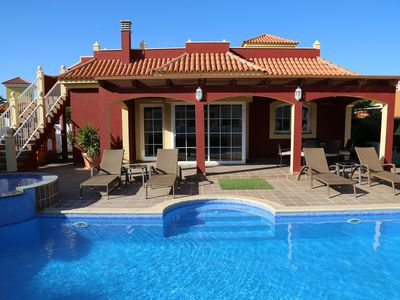 Photo for Wonderful  Luxury Villa On Golf Course With Private Pool, Sea & Golf Views