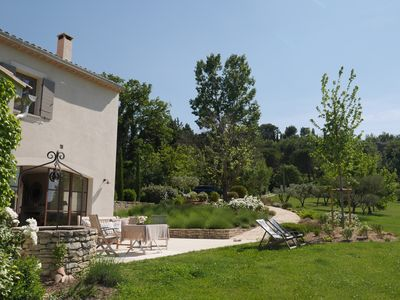 Photo for GOULT - Splendid family home at walking distance of the village. Great garden.