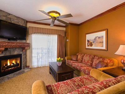 Photo for Located at Canyons Village Base w/ Free Shuttle, Resort Spa & Ski In/Out Access