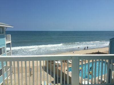 Photo for Oceanfront Condo With Pool