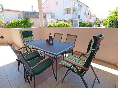 Photo for House 166 m from the center of Vodice with Parking, Internet, Washing machine, Air conditioning (122103)