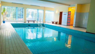 Photo for Apartment with indoor pool, garden and parking