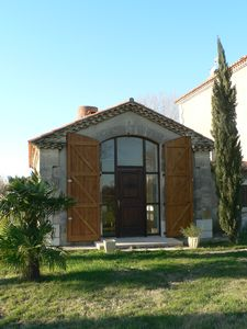 Photo for cottage in the Camargue on the edge of the small rhone