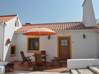 Photo for 2 bedroomed new renovated character filled cottage for 4/5 only7km from Obidos