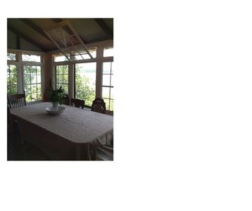 Photo for Pondfront Cottage - 8 feet from water's edge !!