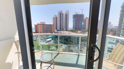 Photo for Sun Filled 1 BR w/ Balcony on Sunny Isles - One Bedroom Apartment, Sleeps 4