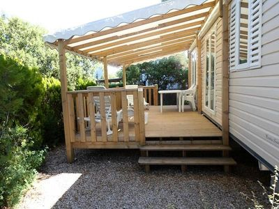 Photo for Camping Domaine de la Bergerie ***** - Air-conditioned Cottage 3 rooms 4/5 people