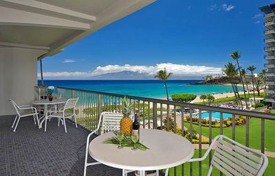 Photo for $385 Late Summer Special!  Valid 09/04-09/12! The Whaler Kaanapali #456! Prime Oceanview!