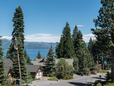 Photo for Rustic Tahoe Cabin - Lake View - Dollar Point!