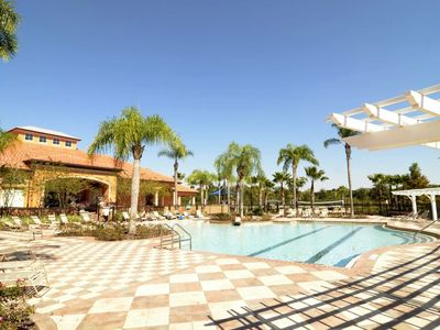 Photo for Awesome 4 Bedroom Disney area Pool Home with resort facilities