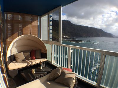 Photo for Apartment with stunning views of the sea and Mount Teide.