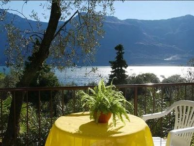 Photo for B. B.  BUFFALO GRILL AMONG THE OLIVE TREES OF LIMONE DEL GARDA