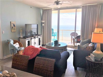Photo for Beach Club C904 - Direct Gulf View - Private Balcony - WIFI