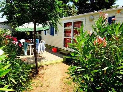 Photo for Camping Domaine de la Pinède Enchanted *** - Mobile home Evasion 3 Rooms 4 People