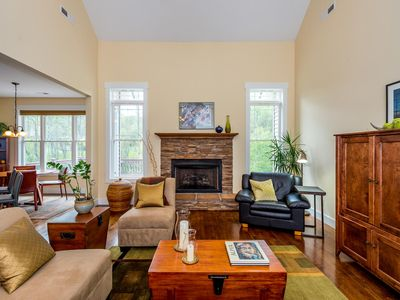 Photo for New Listing! Beautiful Arts &Crafts home, pastoral setting, 15 min to downtown