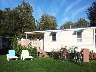 Photo for Camping Domaine du Rompval *** - Mobile home 3 Rooms 4 People