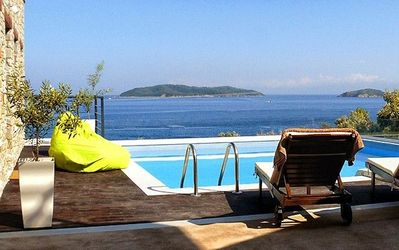 Photo for Executive Skiathos Villa | Villa Leonidas | Panoramic Sea Views | Vassilias