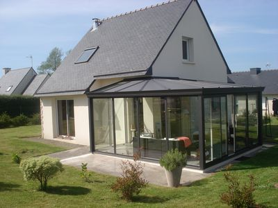 Photo for Recent house in Perros-Guirec, near Ploumancach