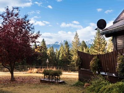 Photo for Beautiful Log Home In A Secluded Forest ~ Just 5 Minutes From Downtown