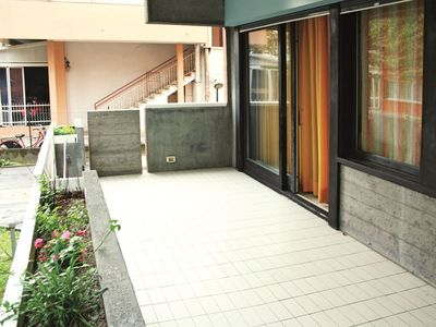 Photo for One bedroom vacation apartment in Riccione, in a nice residential area and at just 300 meters from t