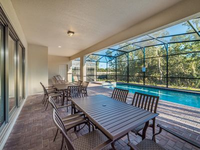 Photo for New Lowered Pricing, South Facing Pool/Spa, Game Room, Close To Disney