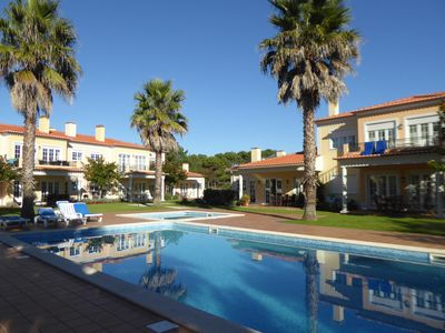 Photo for Apartment Resort Praia Del Rey, with children's pool