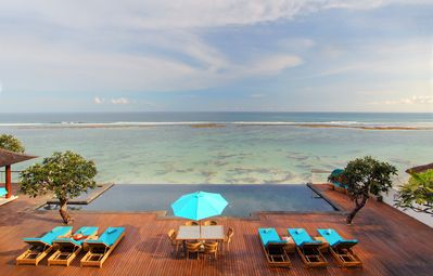 Photo for 4 Bedroom Luxury Indian Ocean Front Villa w/ Infinity Pool, Nusa Dua