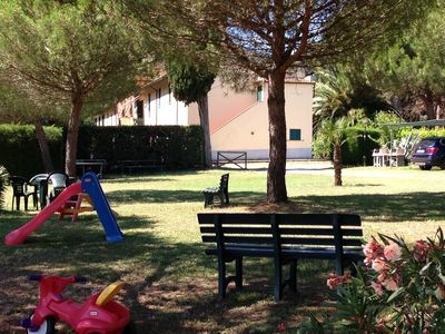 Photo for Holiday Resort with Garden, near the Etruscan Riviera