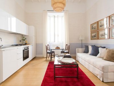 Photo for Via Giulia III - luxury 1 bedrooms serviced apartment - Travel Keys